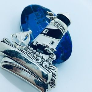 Jewelry - Lighthouse Brooch Pendant BEST